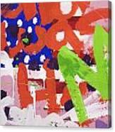 Green M Canvas Print