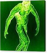 Green Man Arises Canvas Print