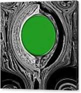 Green Mirror Canvas Print
