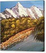Green Mountain Canvas Print
