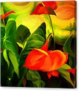 Green Red Canvas Print