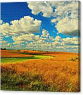 Green River Texturized Canvas Print