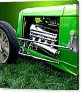 Green Rod Canvas Print