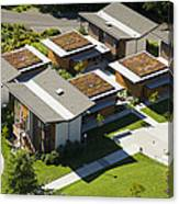 Green Roofs, Bastyr University, Kenmore Canvas Print