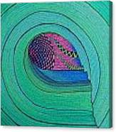 Green Room Canvas Print