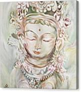 Green Tara Canvas Print