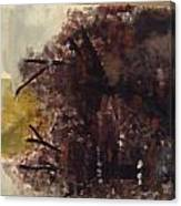 Green Thumb Cemetery Canvas Print