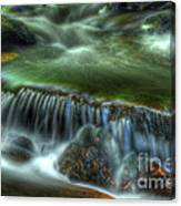 Green Waters Canvas Print