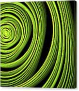 Green Wellness Canvas Print