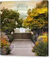 Greenhouse Garden Canvas Print