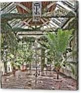 Greenhouse Splendor Canvas Print