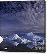 Greenland Midnight Sun Canvas Print