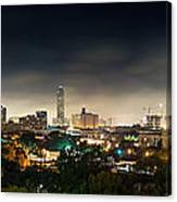 Greenway Plaza And The Galleria Canvas Print