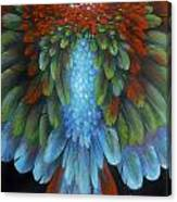 Greenwing Canvas Print