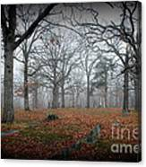 Greenwood Cemetery 1 Canvas Print