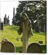 Greenwood Cemetery Canvas Print