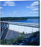 Greers Ferry Dam Canvas Print