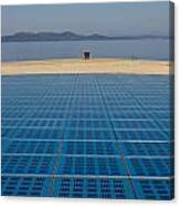 Greetings To The Sun Zadar Installation Canvas Print