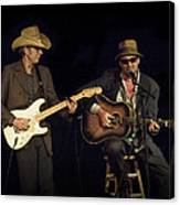 Greg Brown And Bo Ramsey In Concert Canvas Print