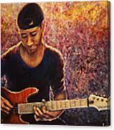 Greg Howe Canvas Print