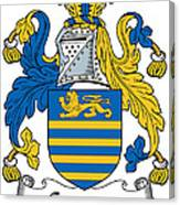 Gregory Coat Of Arms Irish Canvas Print