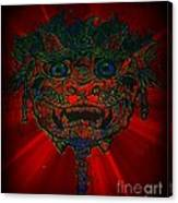 Gremlin In Dynamic Color Canvas Print