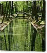 Gren Green Canvas Print