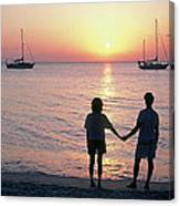 Grenada Sunset Canvas Print