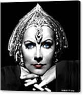 Greta Garbo Portrait Canvas Print