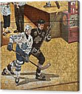 Gretzky And Gilmour 2 Canvas Print