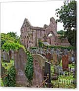 Grey Abbey Cemetery Canvas Print