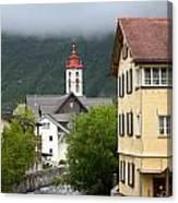 Grey Day In Switzerland  Canvas Print