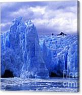 Grey Glacier Patagonia Chile Canvas Print