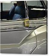 Grey Poupon And Rolls Royce Canvas Print