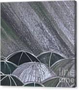 Grey Rain 2 By Jrr Canvas Print