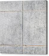 Grey Tiles Canvas Print