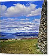 Grianan Of Aileach View Canvas Print