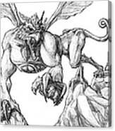 Griffin Canvas Print