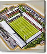 Griffin Park - Brentford Fc Canvas Print