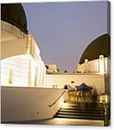 Griffith Park Observatory No. 3 Canvas Print