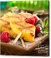 Grilled Pineapple  Canvas Print