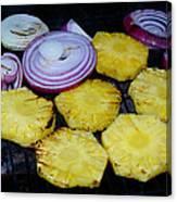 Grilled Veggies #1 Crop 2 Canvas Print