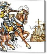 Grimm: Faithful John Canvas Print