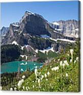 Grinnell Lake With Beargrass Canvas Print