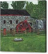 Grist Mill At Wayside Inn Canvas Print