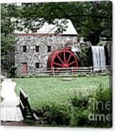 Gristmill Art Canvas Print