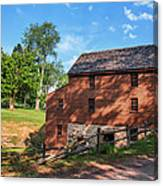 Gristmill At The Farmstead Canvas Print