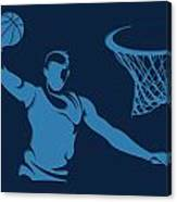Grizzlies Shadow Player1 Canvas Print