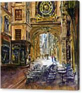 Gros Horlaoge Rouen France Canvas Print