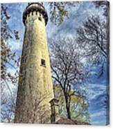 Grosse Point Lighthouse Color Canvas Print